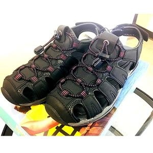 fc6003dd67 Khombu Shoes - 💰SALE💰Khombu Ladies' ASHLEY Active Sandal BLACK
